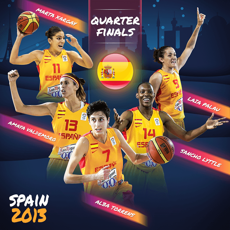 Women's EuroBasket 2019 | Quarter Finals