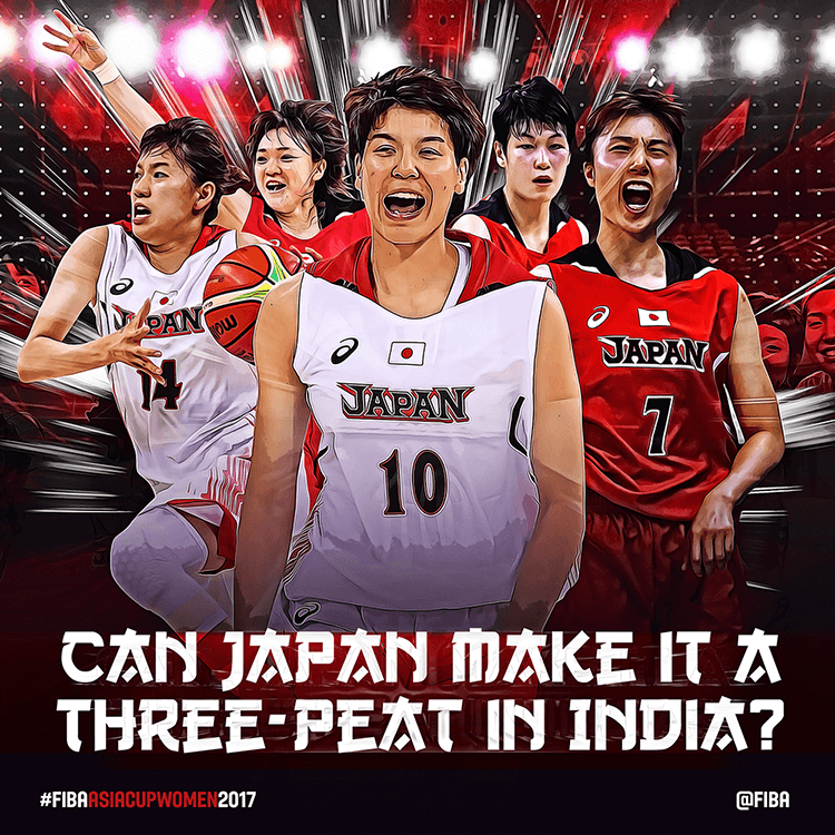 Japan basketball | Social media design