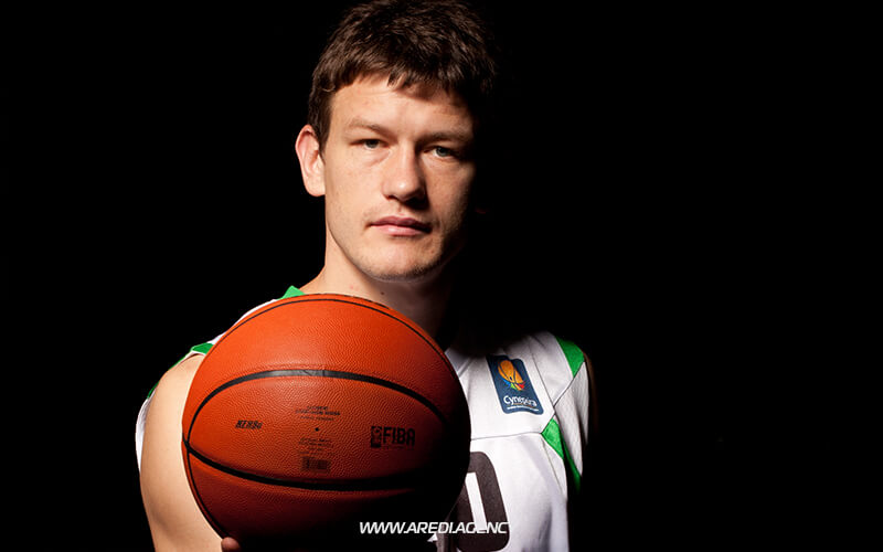 Suad Sehovic. BC Budivelnyk photo shoot 2011-2012