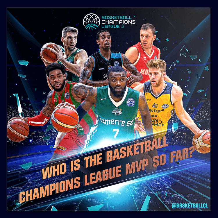 Basketball Champions League social media design 2017-2018