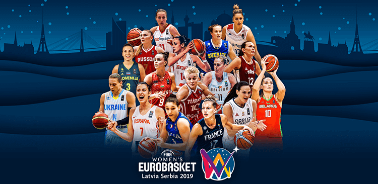 Women's EuroBasket 2019 cover