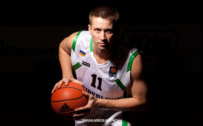 Dmytriy Zabirchenko. BC Budivelnyk photo shoot 2011-2012