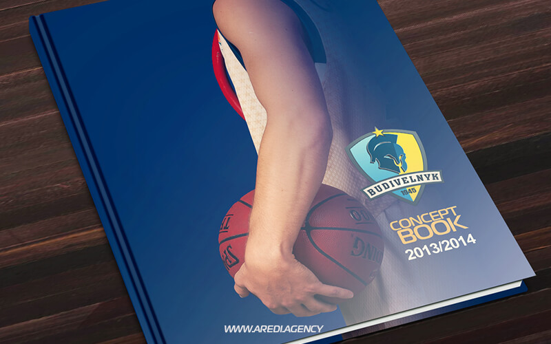 Brand book for the Budivelnyk 2013-2014