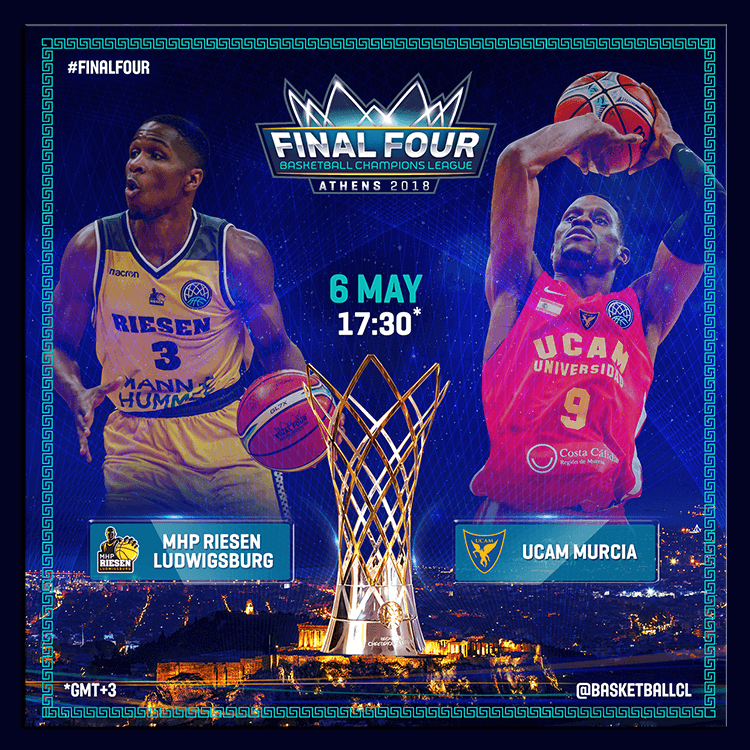 BCL Final Four Athens 2018