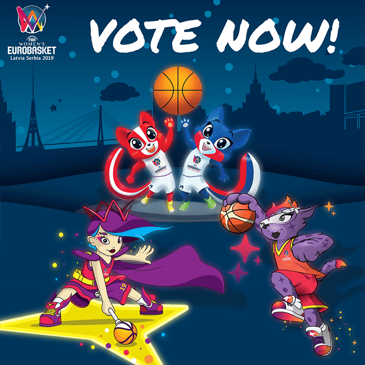 Women's EuroBasket 2019 | Vote now