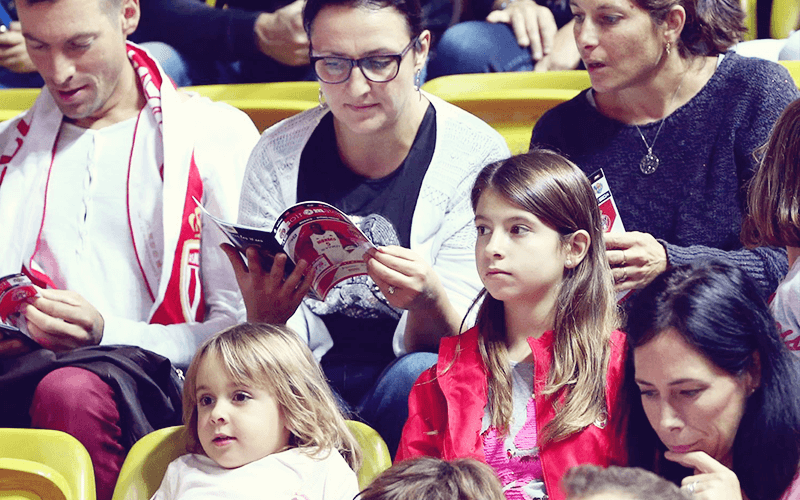 Match booklets AS Monaco Basket