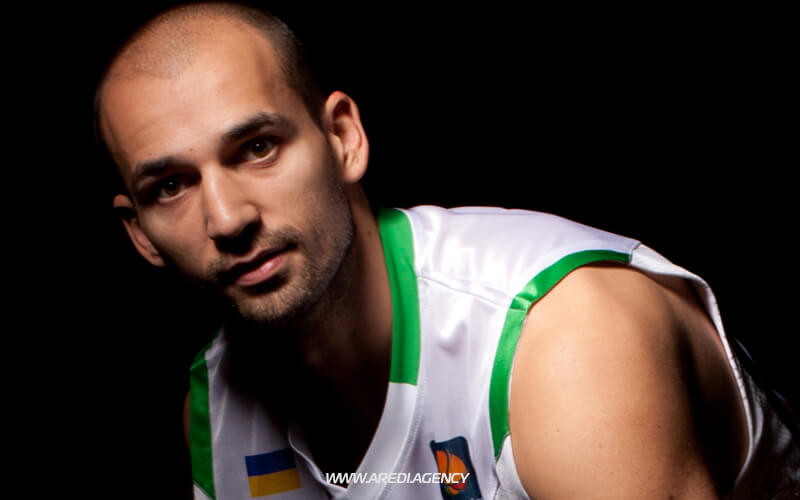 Rolandas Alievas. BC Budivelnyk photo shoot 2011-2012