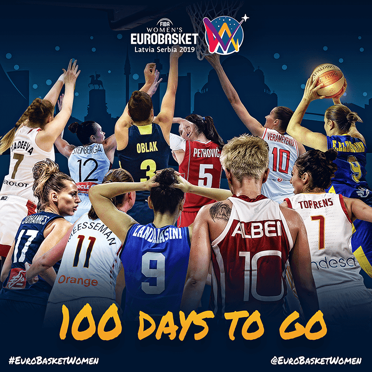 Women's EuroBasket 2019 | 100 days to go
