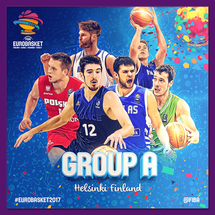 Group A | Social media design for EuroBasket 2017