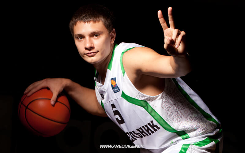 Denys Lukashov. BC Budivelnyk photo shoot 2011-2012