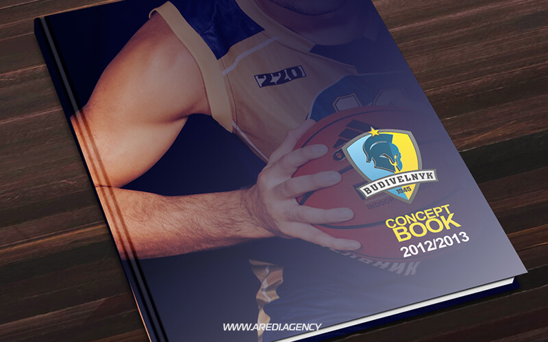 "Брендбук баскетбольного клуба ""Будивельник"" 2012-2013 