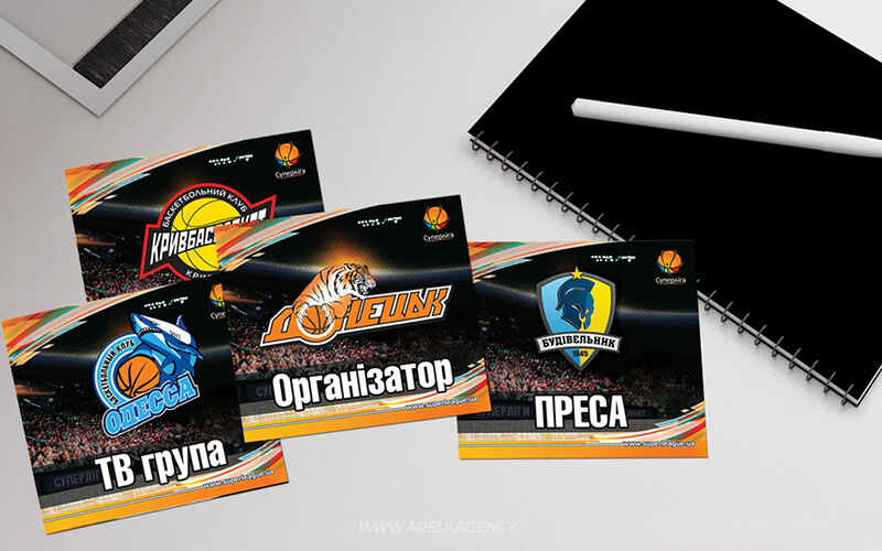 Аккредитация на матчи Суперлига 2011-2012 | Accreditation cards Superleague 2011-2012