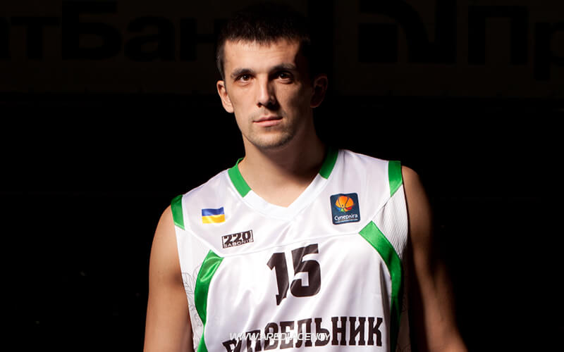 Andriy Agafonov. BC Budivelnyk photo shoot 2011-2012