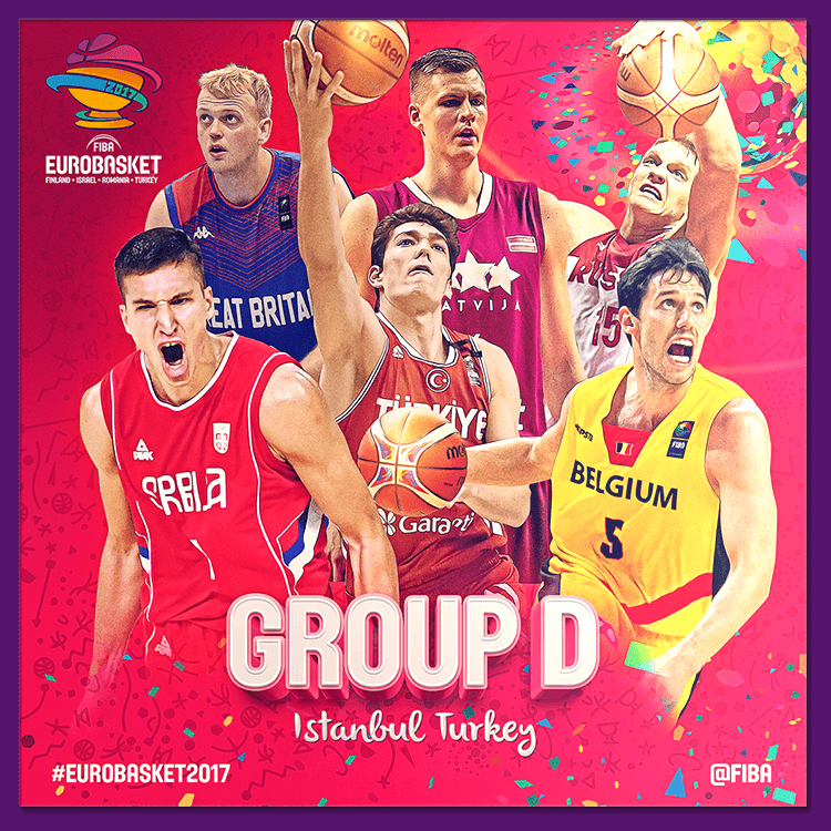 Group D | Social media design for EuroBasket 2017