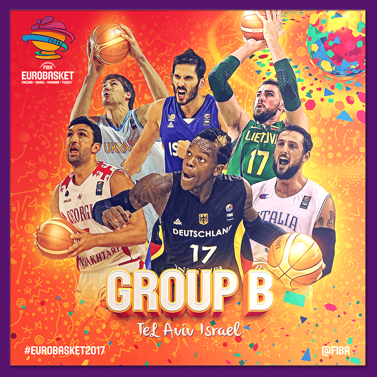 Group B | Social media design for EuroBasket 2017