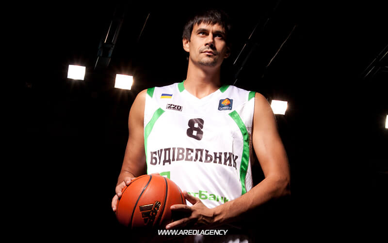 Oleksiy Onufriev. BC Budivelnyk photo shoot 2011-2012