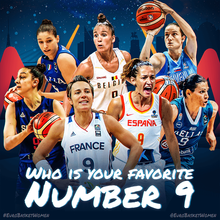 Women's EuroBasket 2019 | Favorite number
