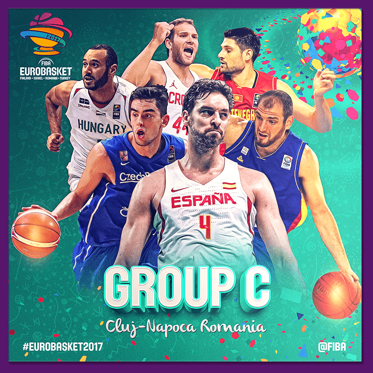 Group C | Social media design for EuroBasket 2017